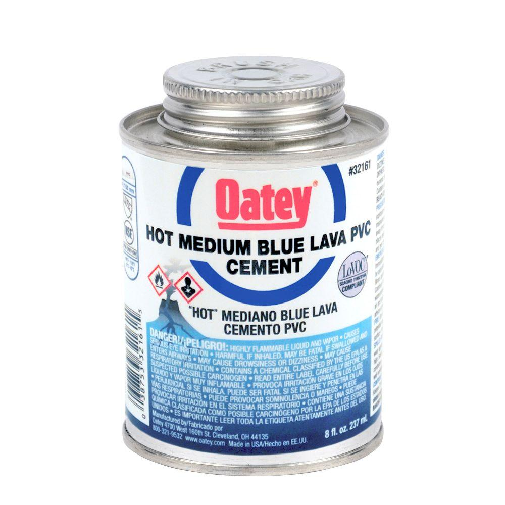 Oatey 8 oz. PVC Blue Lava Hot Cement
