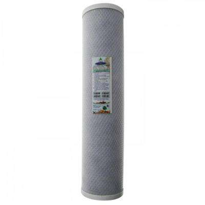 20 in. x 4-5/8 in. Carbon Block Water Filter Cartridge
