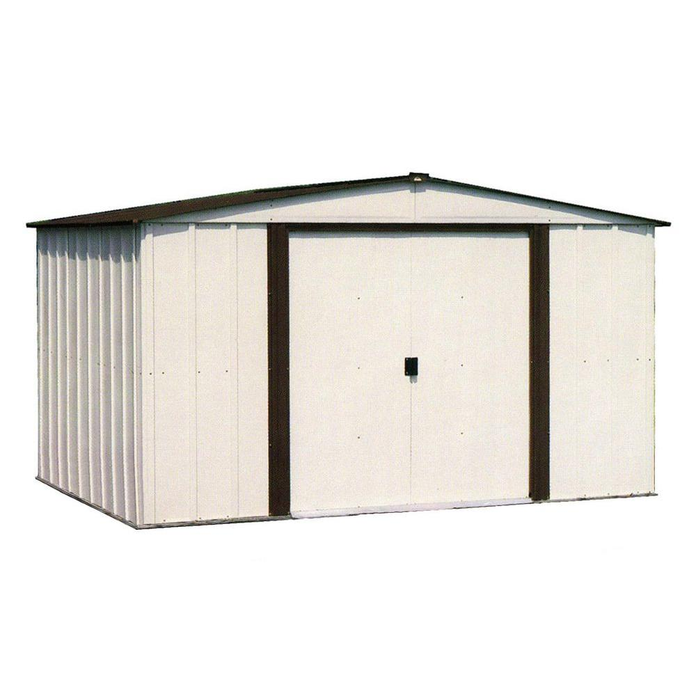 newburgh 8 ft x 6 ft metal storage building - Garage Kits Lowes