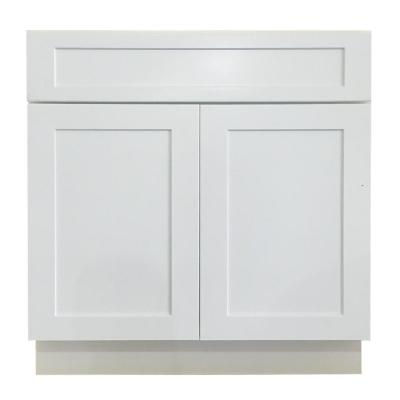 dcb37f1062e Plywell Holden Ready to Assemble 30x34.5x24 in. Sink Base Cabinet ...