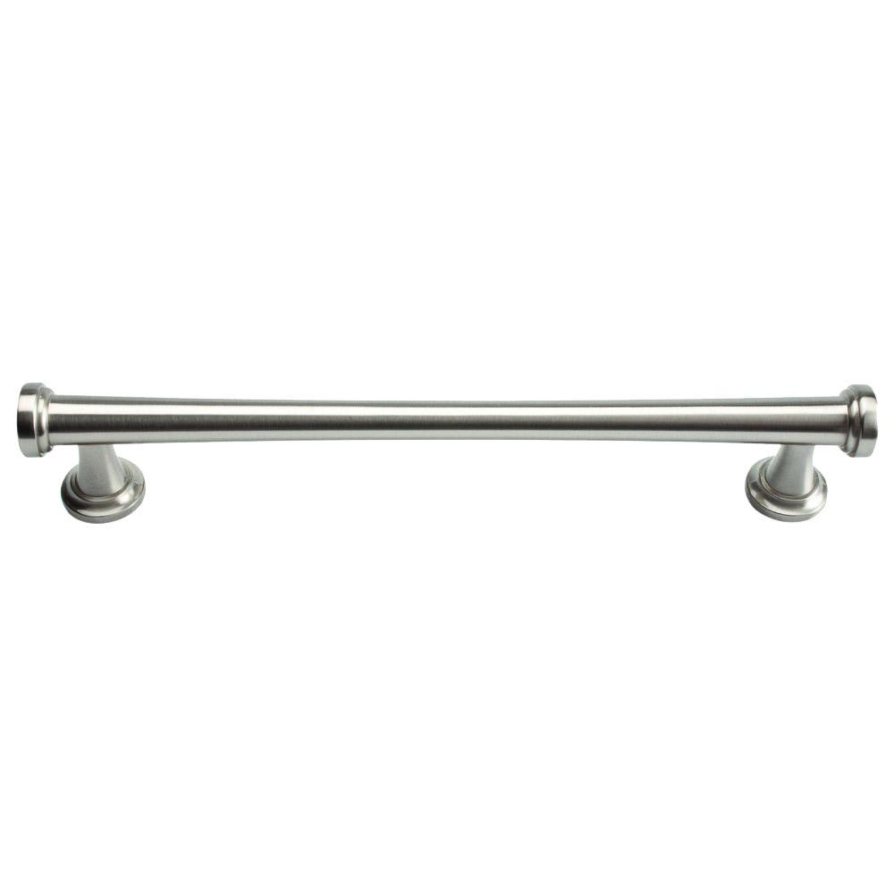 Atlas Homewares Browning Collection Brushed Nickel 7.4 in. Large Pull