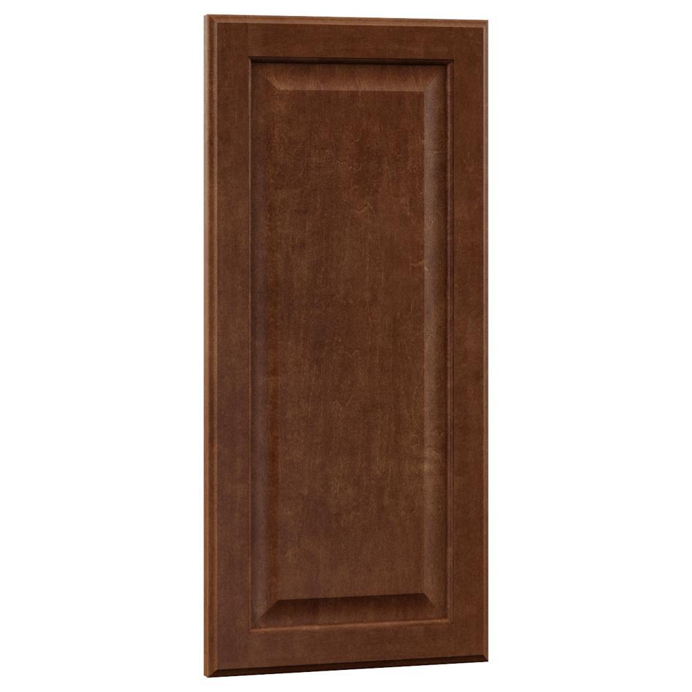 0.75x27.80x13 in. Hampton Island Decorative End Panel in Cognac
