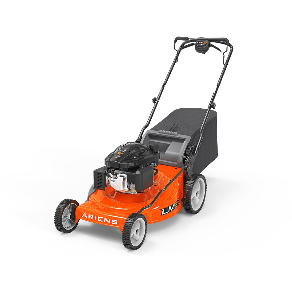 22 in. Walk Behind Gas Lawn Mower LM 159CC 3-in-1 Self-Propelled