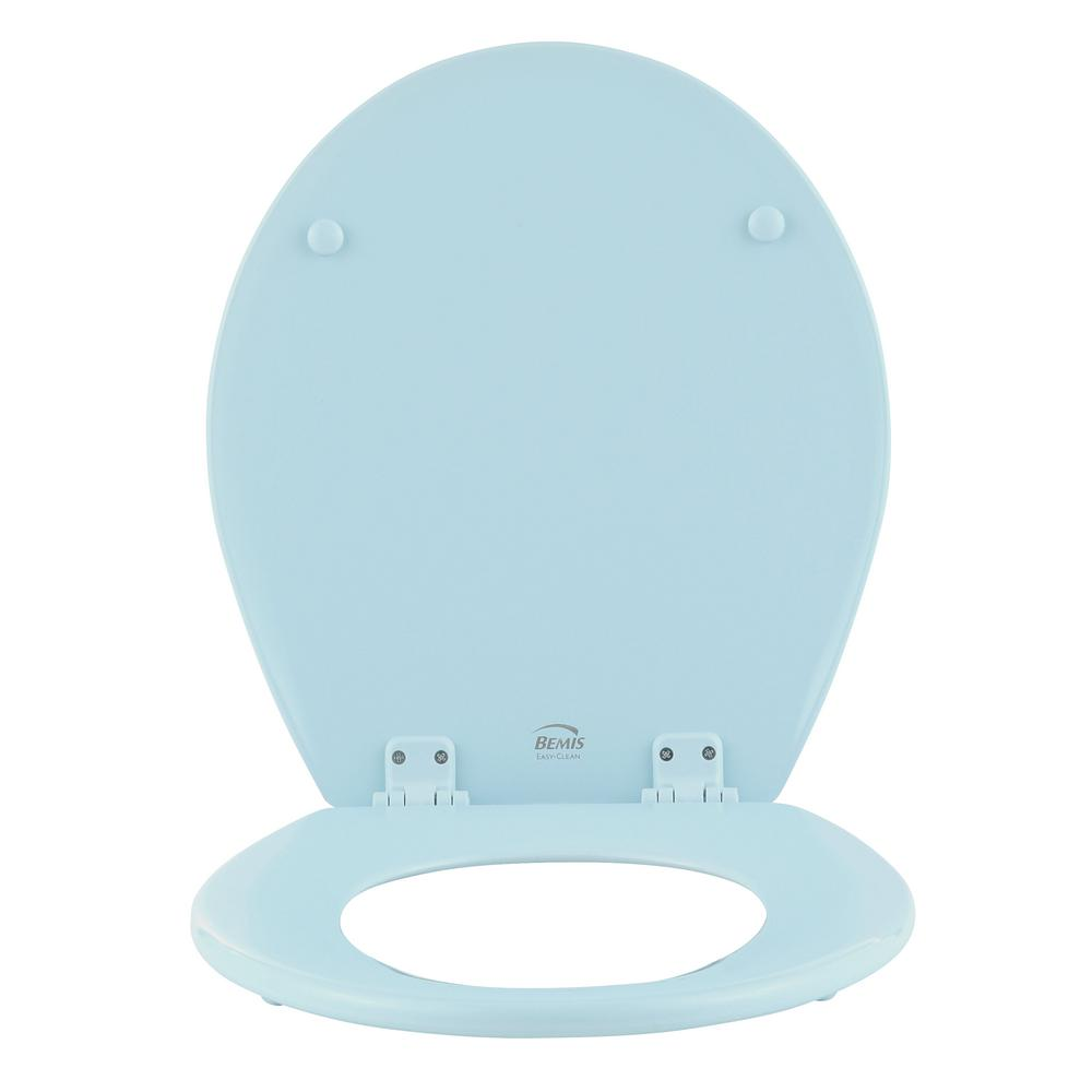 Awesome Bemis Lift Off Round Closed Front Toilet Seat In Dresden Blue Pdpeps Interior Chair Design Pdpepsorg