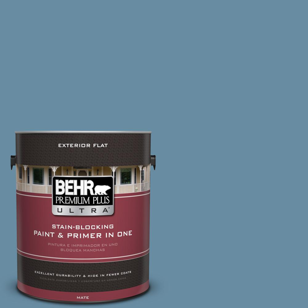BEHR Premium Plus Ultra 1 gal. #UL230-18 French Court Flat Exterior Paint