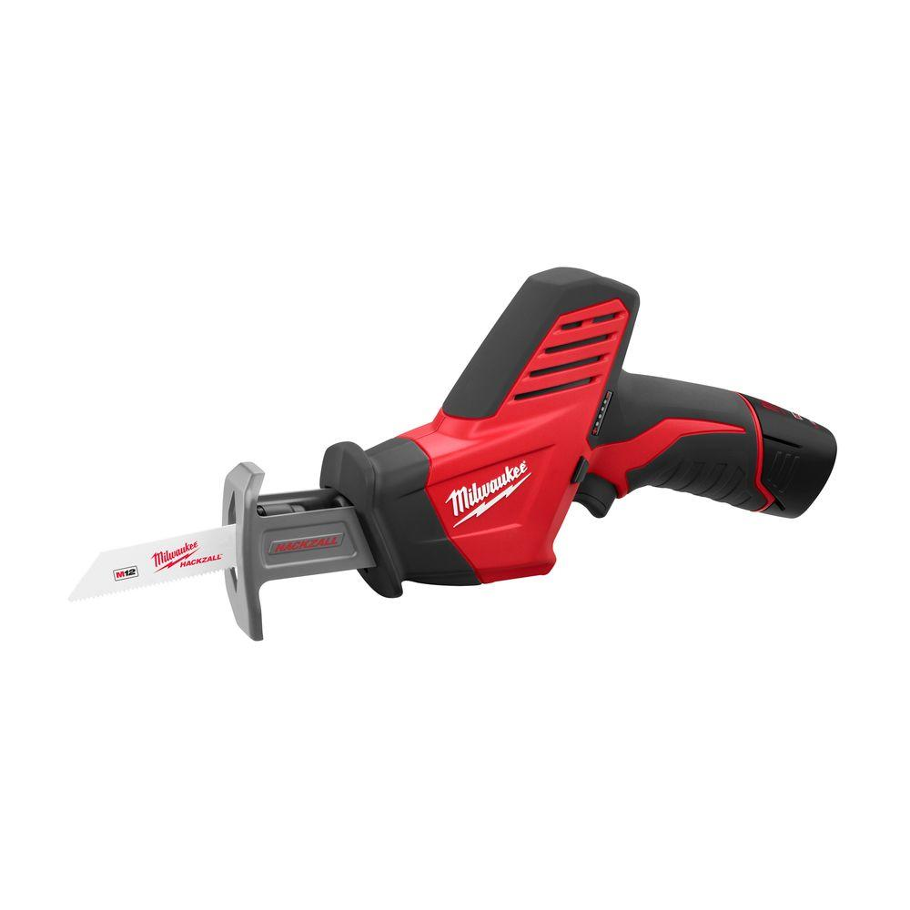 Milwaukee M12 12-Volt Lithium-Ion Cordless HACKZALL Reciprocating Saw Kit
