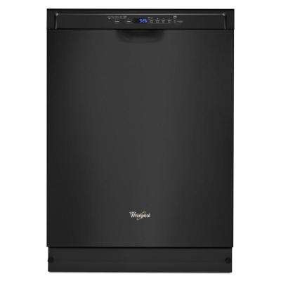 Front Control Built-In Tall Tub Dishwasher in Black with Stainless Steel Tub and 1-Hour Wash Cycle, 50 dBA