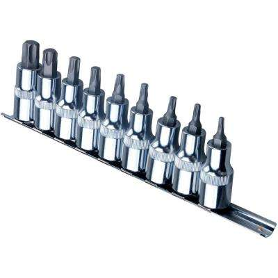 1/2 in. Drive Star Point Socket Set (9-Piece)