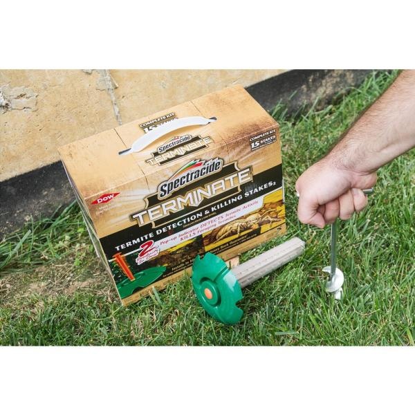 Spectracide Terminate Termite Detection And Killing Stakes 15 Count Hg 96115 3 The Home Depot