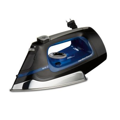 Retractable Cord Iron with Stainless Steel Soleplate, Steam, Spray and Blast Settings and Auto Shutoff