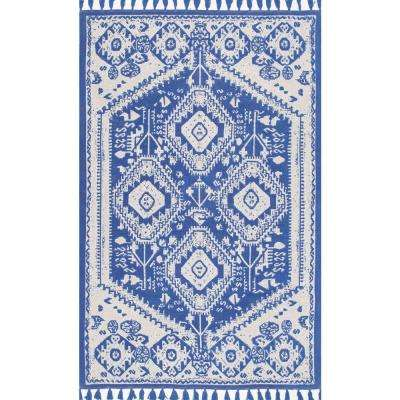 Noreen Blue 4 ft. x 6 ft. Area Rug