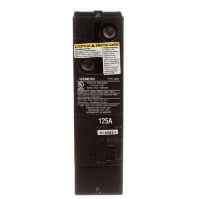 125 Amp Double-Pole 22kA Type QS Multi-Family Main Breaker