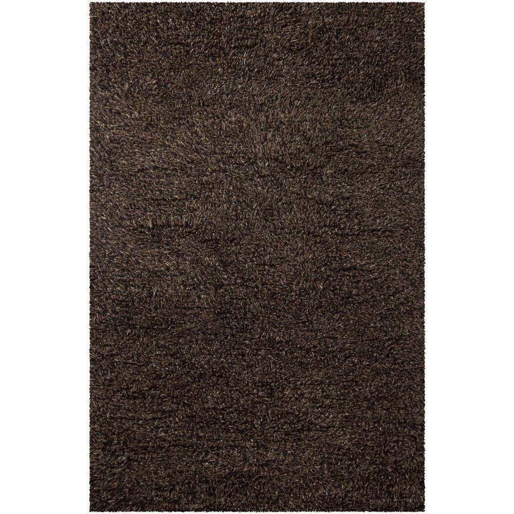 Chandra Espeda Brown/Black 9 ft. x 13 ft. Indoor Area Rug