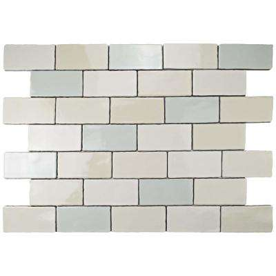 Antic Craquelle Mix 3 in. x 6 in. Ceramic Wall Tile (4 sq. ft. / pack)