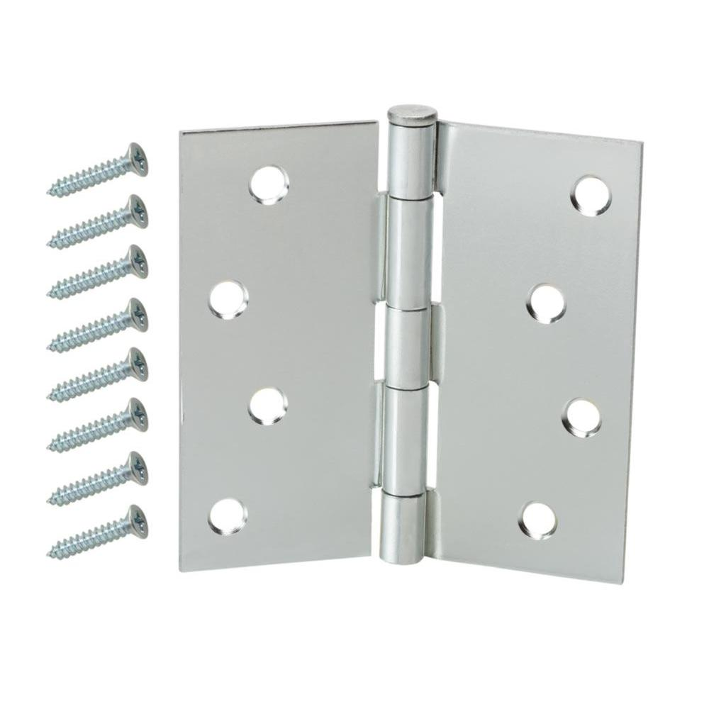 4 in. Broad Loose Pin Hinge, Zinc Plated -  Everbilt, 15158