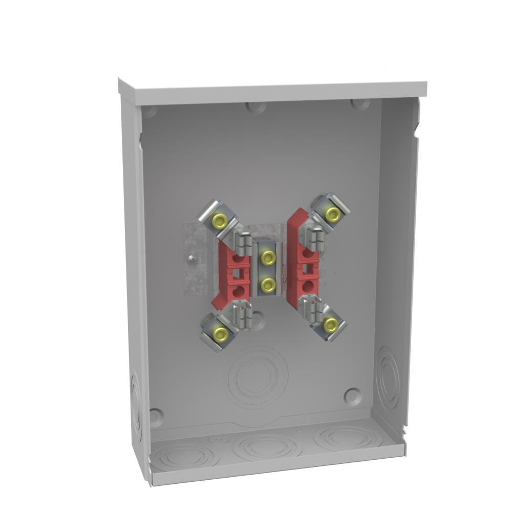 200 Amp 4-Terminal Ringtype Underground Meter Socket