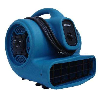 X-400A 1/4 HP High Velocity Air Mover with Daisy Chain