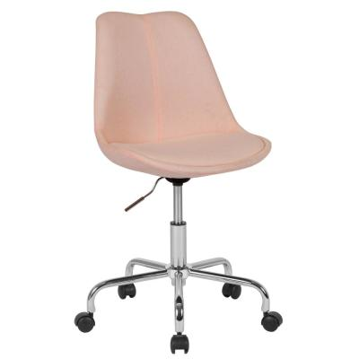 Pink Fabric Office/Desk Chair