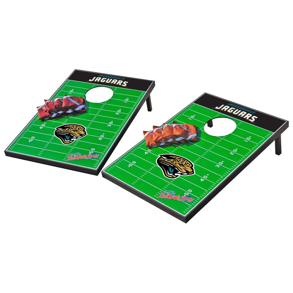 Wild Sports Jacksonville Jaguars Tailgate Cornhole Toss