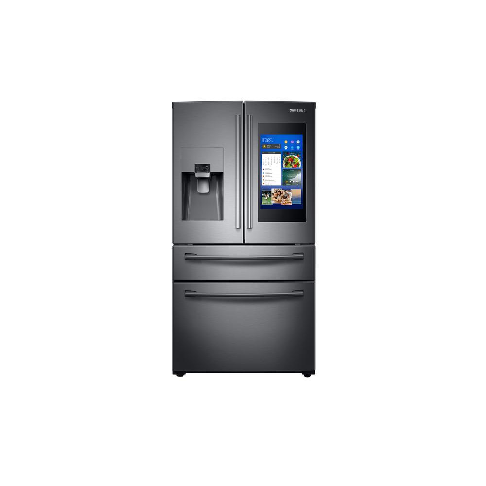27.4 cu. ft. Family Hub 4-Door French Door Smart Refrigerator in