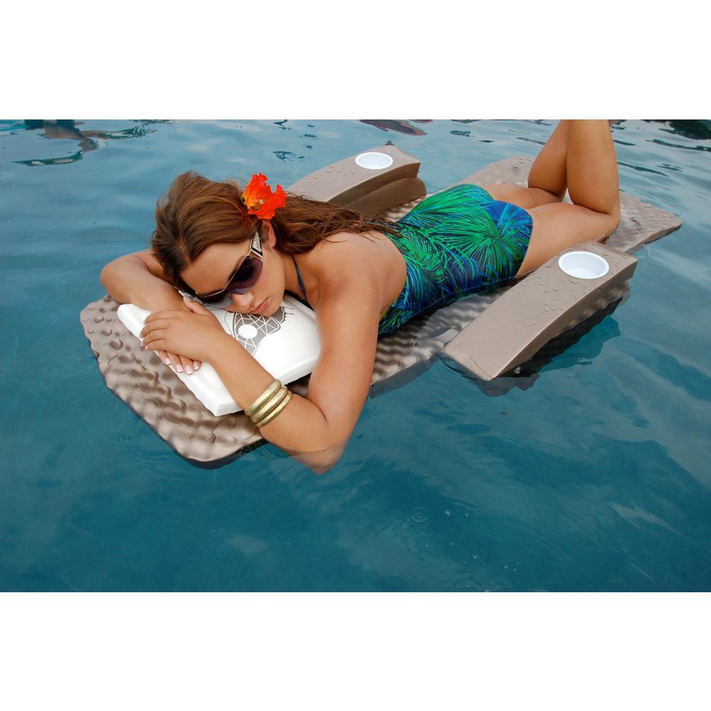 Super Soft Foam Bronze Pool Adjustable Recliner