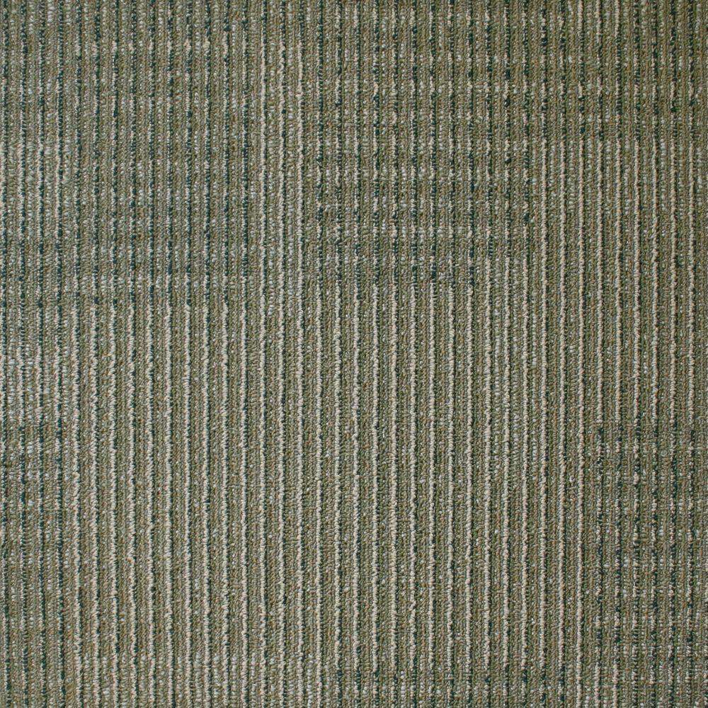 Park Avenue Khaki Loop 19.7 in. x 19.7 in. Carpet Tile (20 Piece/Case)