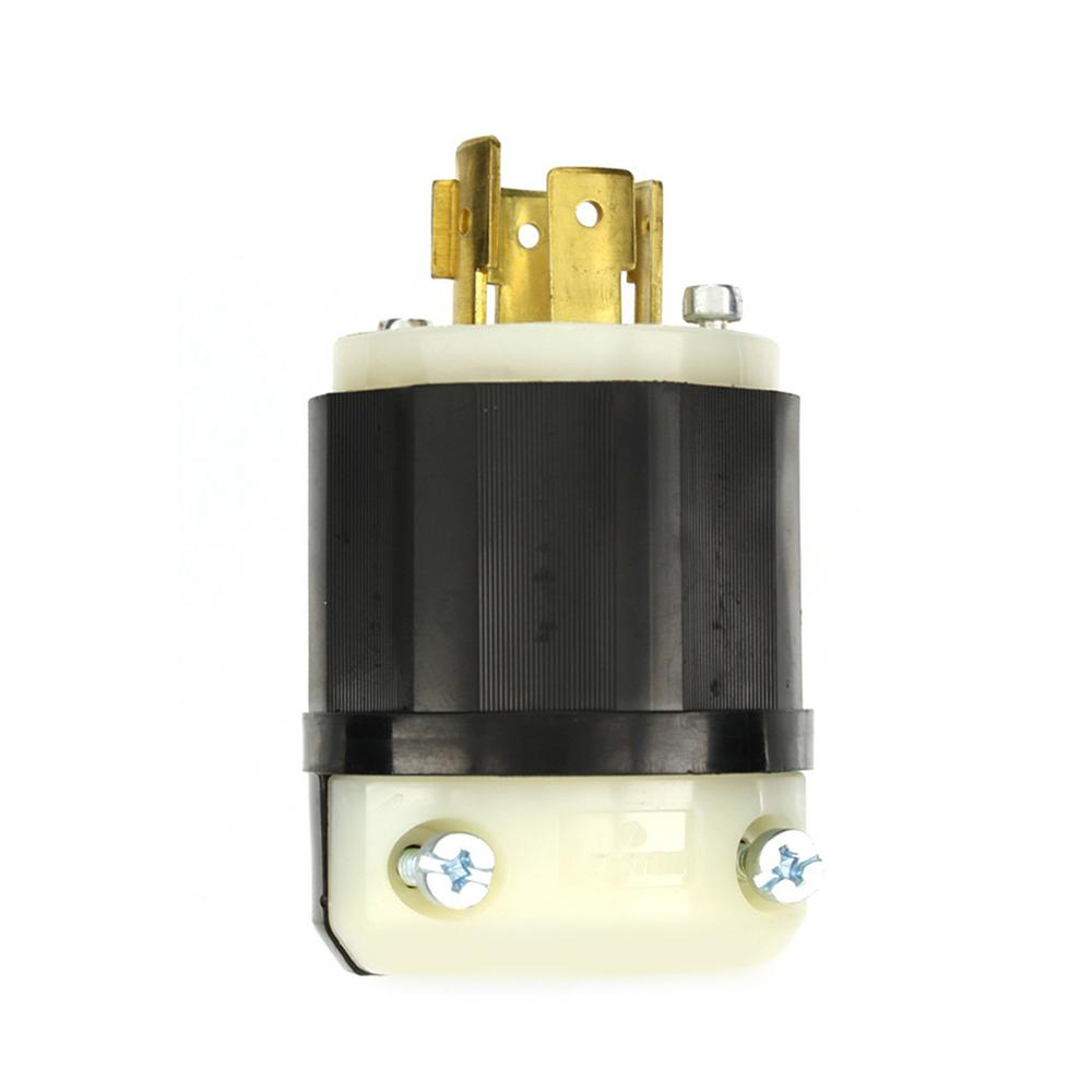 leviton 20 amp 120/208-volt 3-phase locking non-grounding ... 6 50 208 volt wiring diagram v plug 20 208 volt wiring diagram
