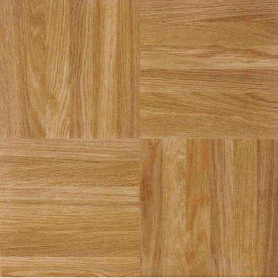 Sterling Oak 12 in. x 12 in. Peel and Stick Square Parquet Vinyl Tile (20 sq. ft./case)