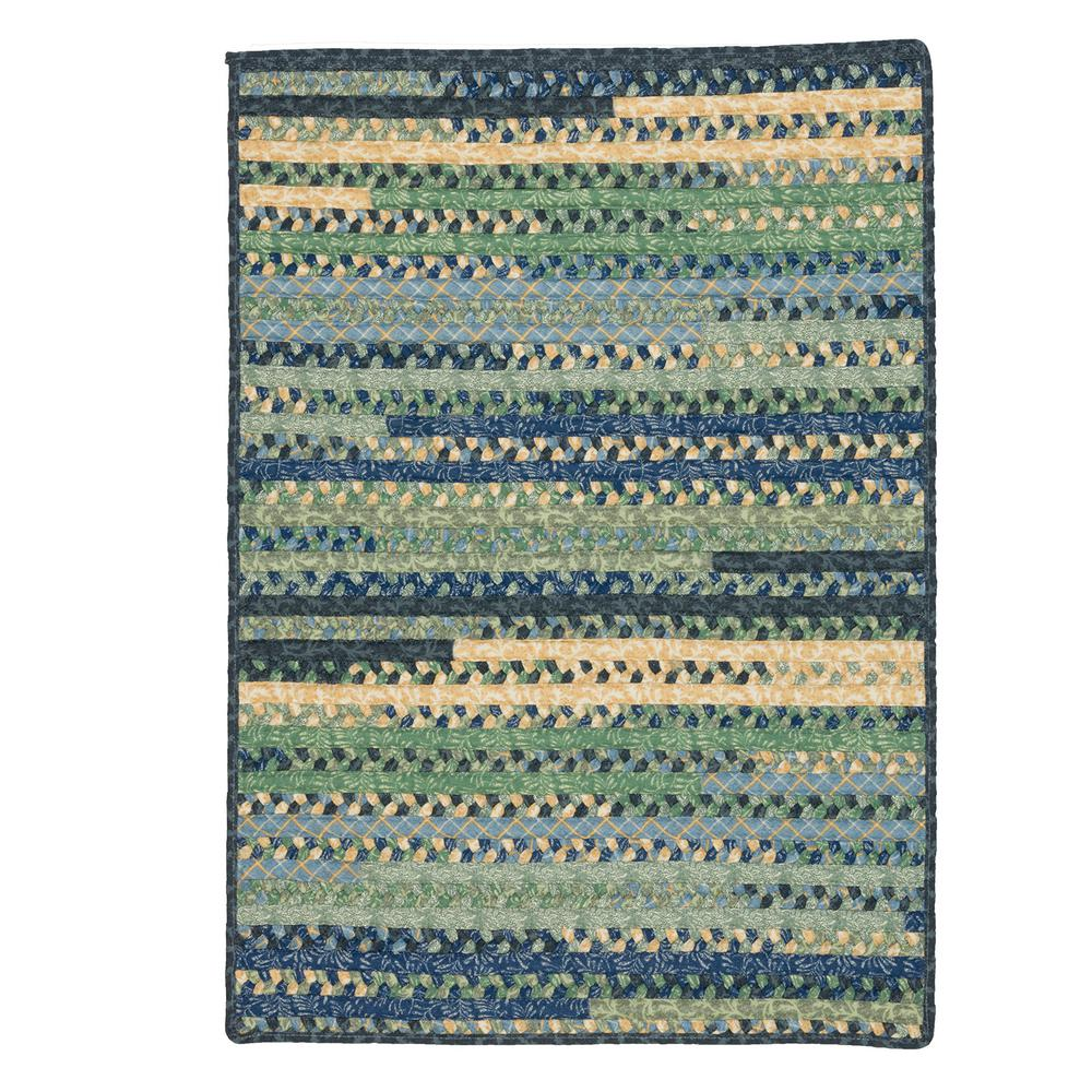 Hearth Rectangular French Country 2 ft. x 9 ft. Braided Runner