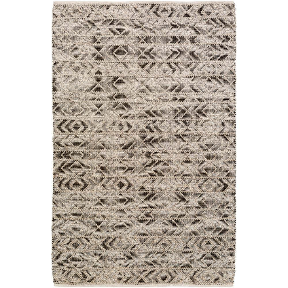 Rapla Black 4 ft. x 6 ft. Indoor Area Rug