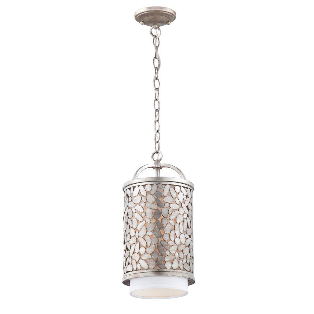 Eurofase Amano Collection 1-Light Silver Pendant-DISCONTINUED