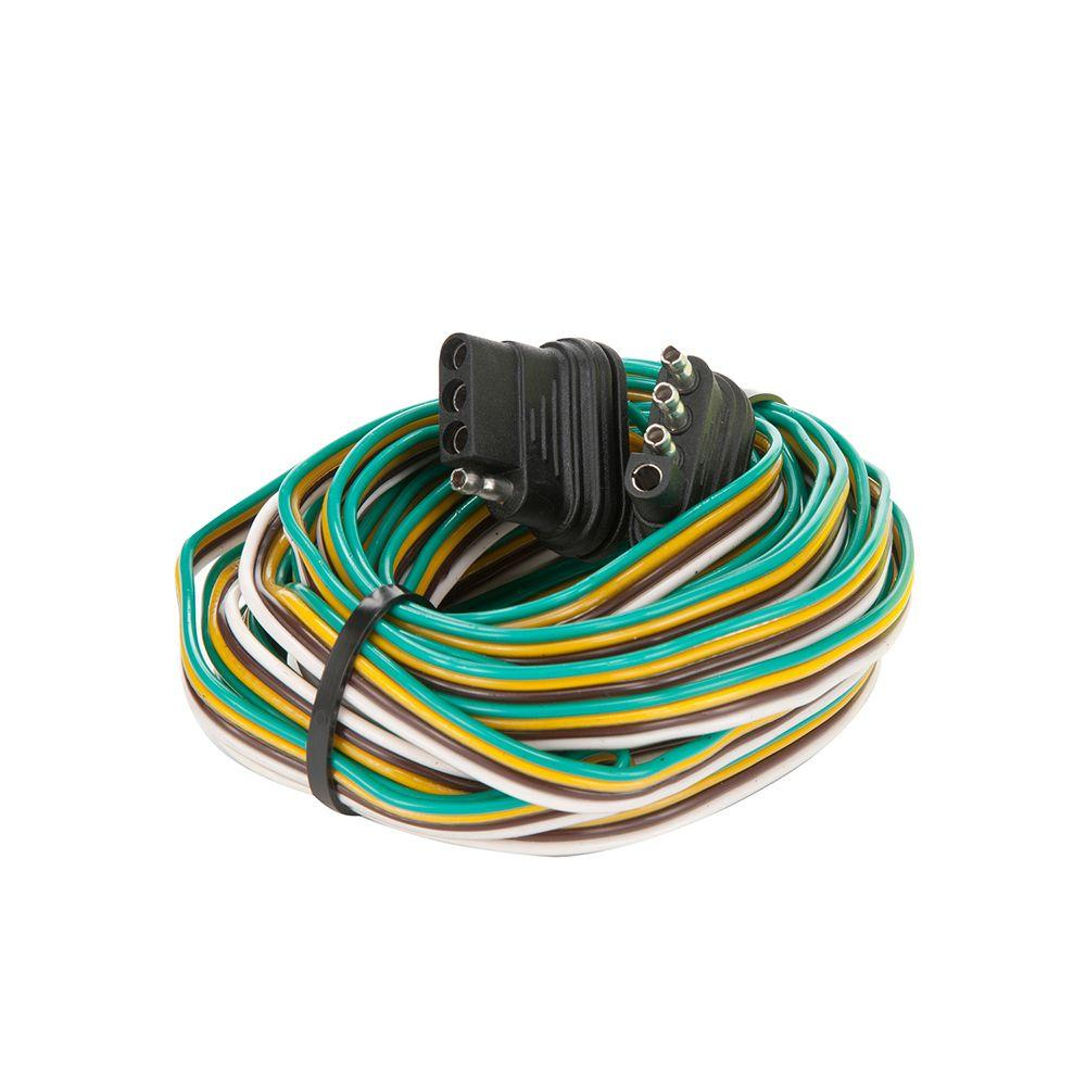 Towsmart 24 Ft  Trailer End Trailer Wiring Connector