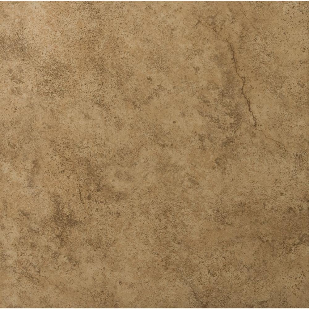 Msi Silver 16 In X 16 In Tumbled Travertine Paver Tile