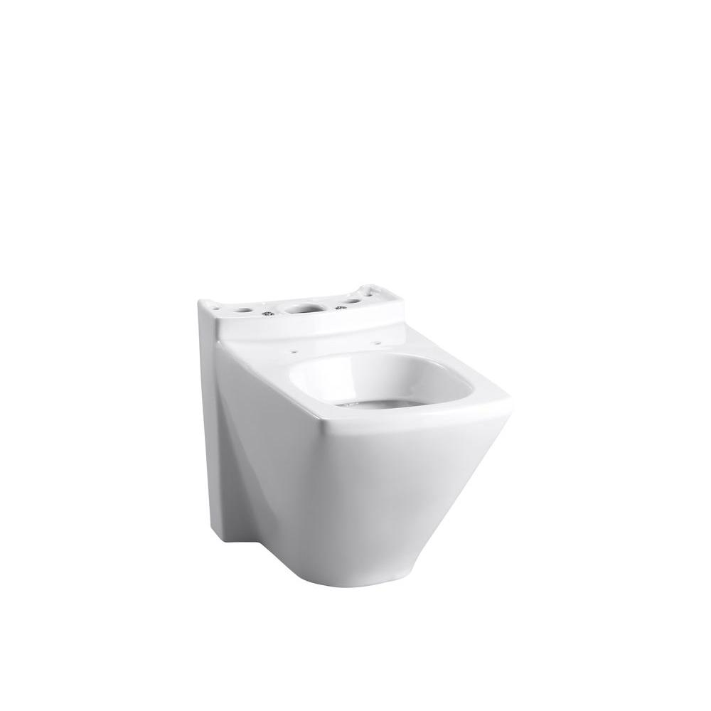KOHLER Escale Elongated Toilet Bowl Only in White