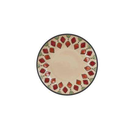 Spice Geo Dinner Plate (Set of 4)