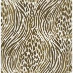 Brown and Gold Fierce Brown and Gold Wallpaper Sample