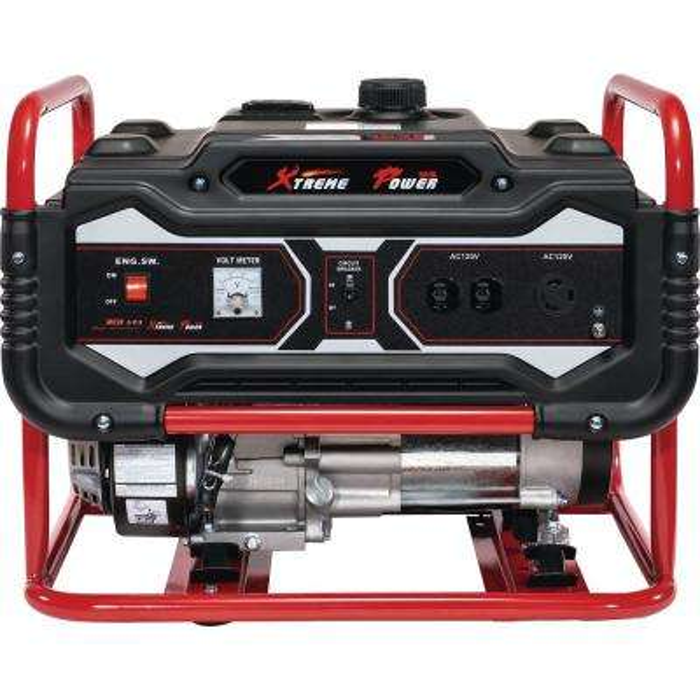 4,000-Watt/3,500-Watt Gasoline Powered Recoil Start Portable Generator EPA Certified