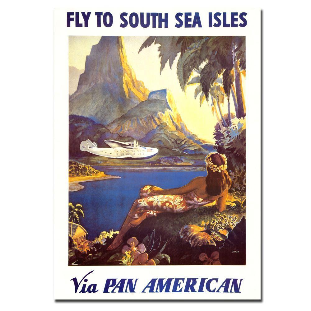 18 in. x 24 in. South Sea by Paul Lawler Canvas Art