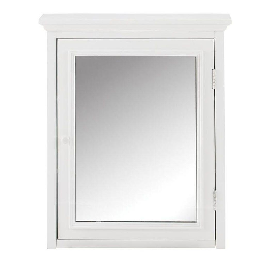 home decorators collection fremont 24 in w x 30 in h x 612 in d framed bathroom medicine cabinet in the home depot