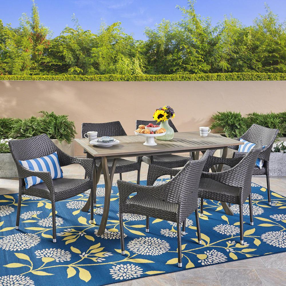 Home Depot Outdoor Wicker Dining Sets