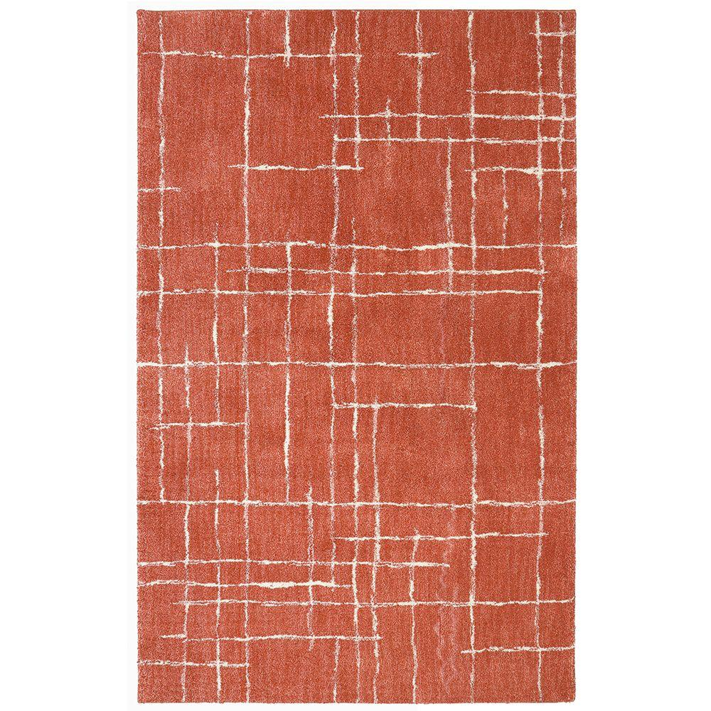 Mohawk Home Mohawk Home Chatham Coral 8 ft. x 10 ft. Indoor Area Rug, Pink