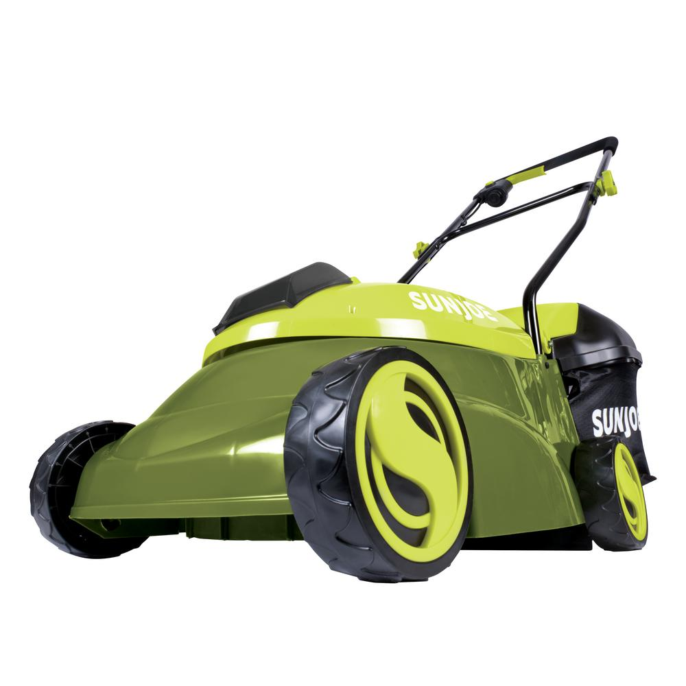 14 in. 28-Volt 5 Ah Battery Walk-Behind Push Mower - 4.0