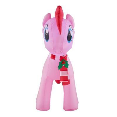 3.5 ft. Inflatable Pinkie Pie with Holiday Scarf