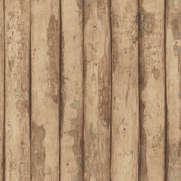 Norwall Log Cabin Wallpaper Fh37536 The Home Depot