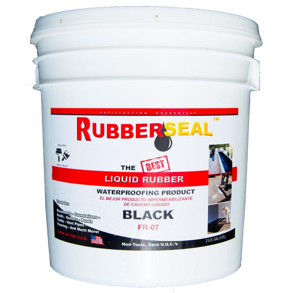 2 Gal. Black Liquid Rubber