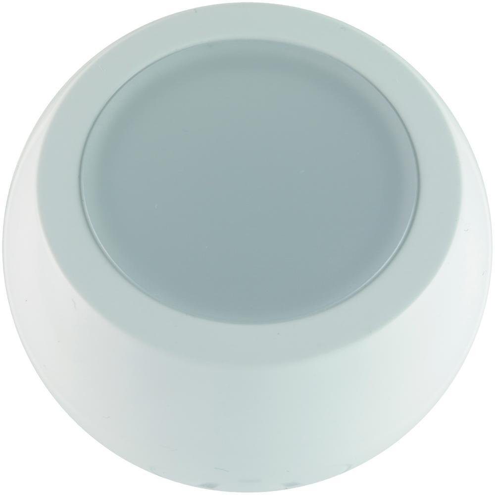 0.5W LED 360 Degree Rotating Night Light, White (2-Pack)