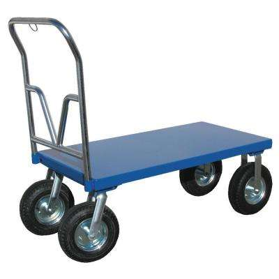 24 in. x 48 in. Pneumatic Tire Platform Cart