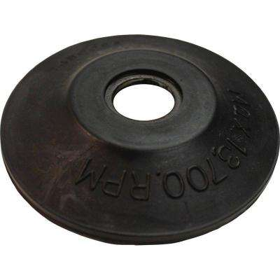 Rubber Backing Pad For Use with Angle Grinders