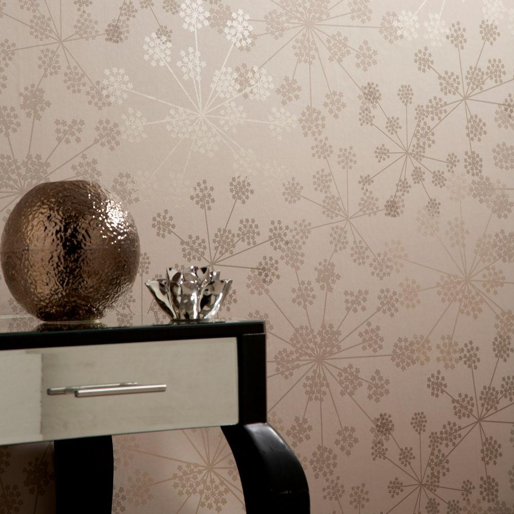 Graham & Brown Sparkle Cream Wallpaper