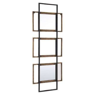 Times III Brown Decorative Mirror
